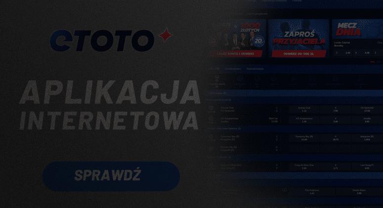 Strona internetowe legalnego polskiego bukmachera Etoto